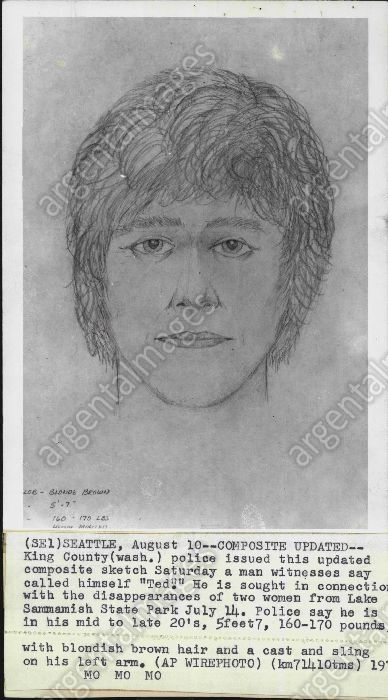 1974 police sketch of ted