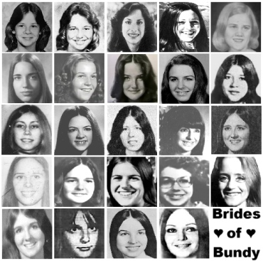 brides of bundy ted bundy victim collage