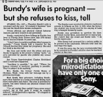 bundys wife is pregnant