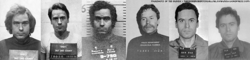 MUGSHOTS AND LINE UPS OF TED BUNDY