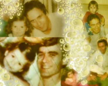 ted bundy and his daughter cheesy edit