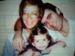 ted bundy with daughter and ugly disgusting woman who bore her the cunt who abandoned him at his time of need i hope she contracted an std and led a miserable life after ted died (4)